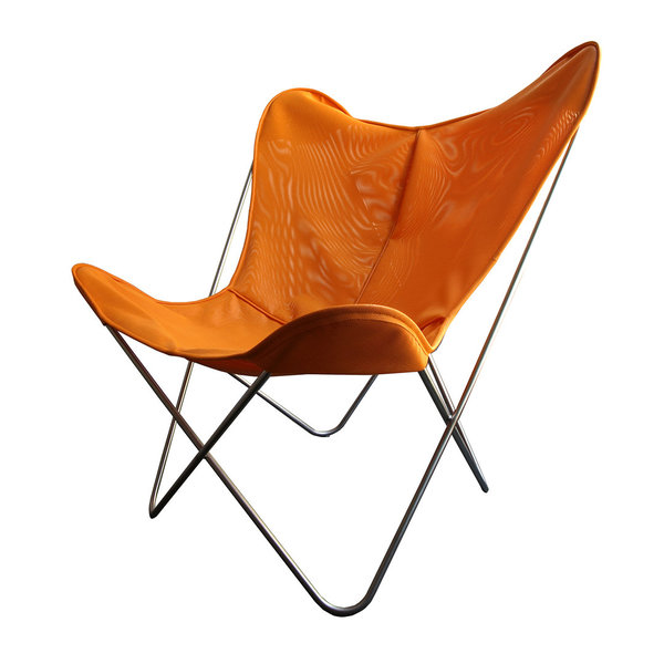 Hardoy Butterfly Chair ORIGINAL tecfab orange