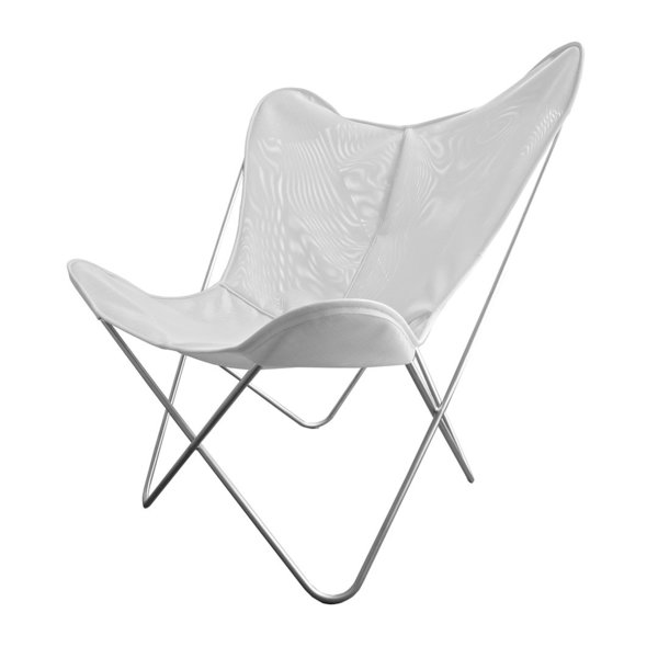 Hardoy Butterfly Chair ORIGINAL tecfab white