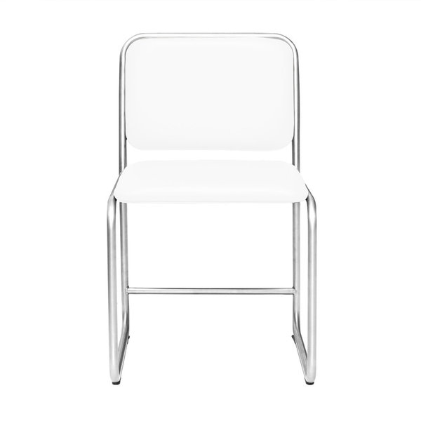 Chair WB1 leather white